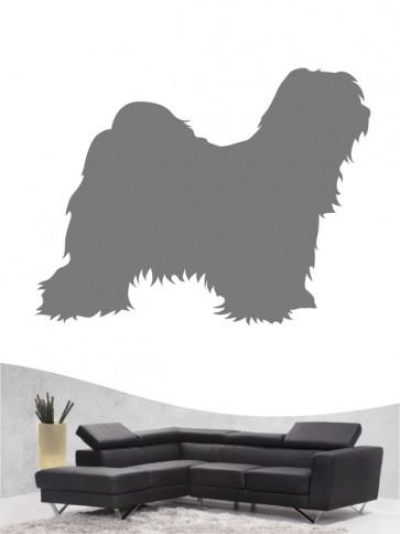 Tibet Terrier 1 - Wandtattoo