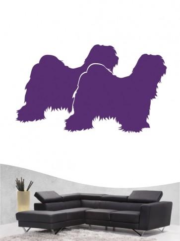 Tibet Terrier 2 - Wandtattoo