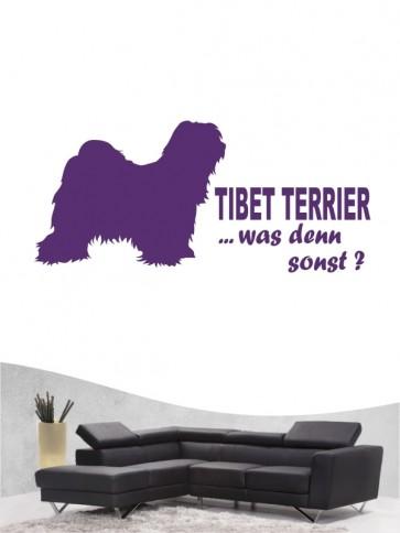 Tibet Terrier 7 - Wandtattoo