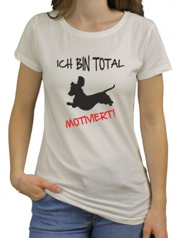 Motiviert Damen Bio-Shirt