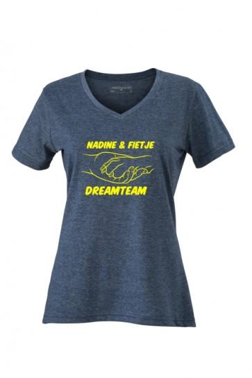 V-Shirt Dreamteam Hundefreund anfalas.de