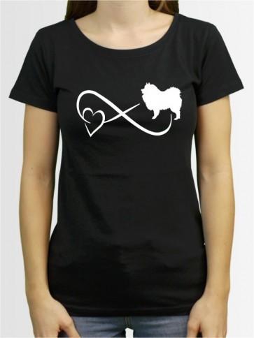 """""""Wolfsspitz 40"""" Damen T-Shirt"""