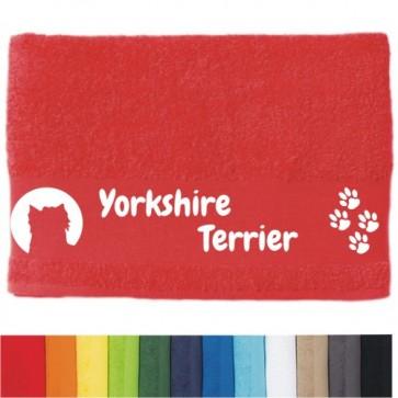 """DOG - Handtuch """"Yorkshire Terrier"""" selbst gestalten   ANFALAS"""