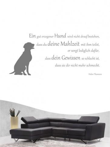 Hunde-Zitat 14 Wandtattoo von Anfalas.de