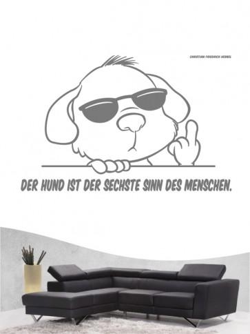 Hunde-Zitat 20 Wandtattoo von Anfalas.de