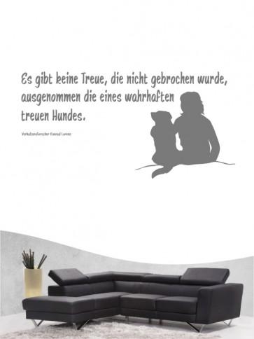 Hunde-Zitat 21 Wandtattoo von Anfalas.de