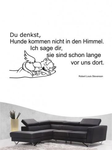 Hunde-Zitat 25 Wandtattoo von Anfalas.de