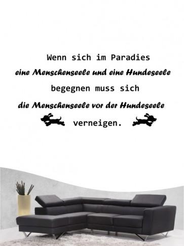 Hunde-Zitat 29 Wandtattoo von Anfalas.de