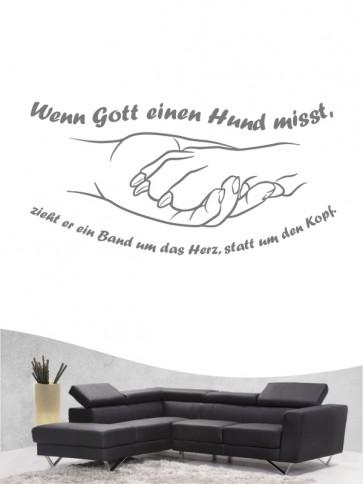 Hunde-Zitat 35 Wandtattoo von Anfalas.de