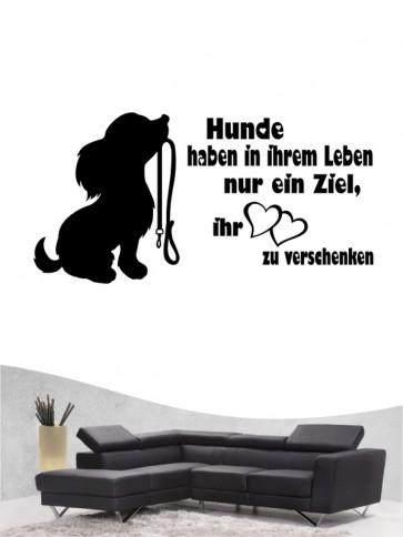Hunde-Zitat 36 Wandtattoo von Anfalas.de