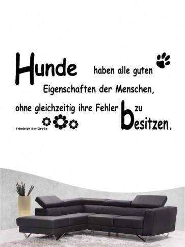 Hunde-Zitat 3 Wandtattoo von Anfalas.de