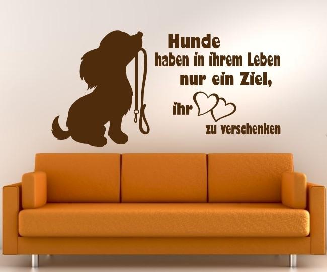 Hunde Zitat 36 Wandtattoo In Eigener Farbe Und Grosse By Anfalas