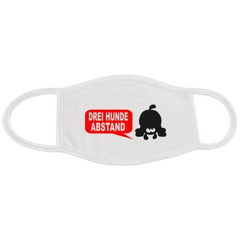 Behelfsmaske Pfote waschbar