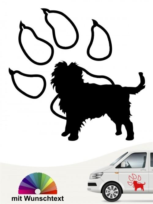 Hunde-Autoaufkleber Affenpinscher 14 von Anfalas.de