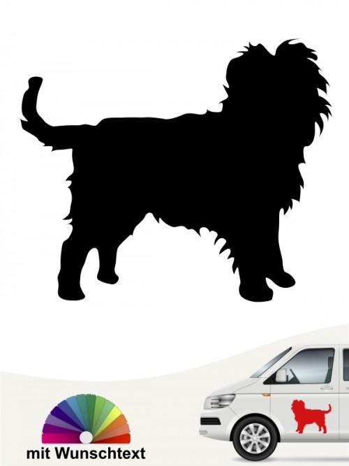 Hunde-Autoaufkleber Affenpinscher 1 von Anfalas.de