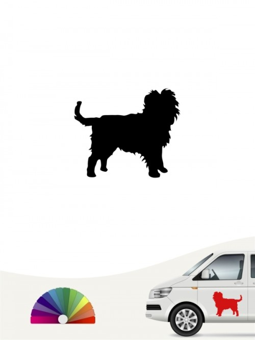 Hunde-Autoaufkleber Affenpinscher 1 Mini von Anfalas.de