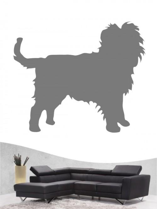 Hunde-Wandtattoo Affenpinscher 1 von Anfalas.de