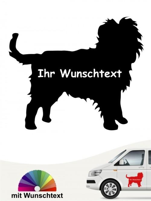 Hunde-Autoaufkleber Affenpinscher 3 von Anfalas.de