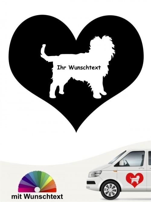 Hunde-Autoaufkleber Affenpinscher 4 von Anfalas.de