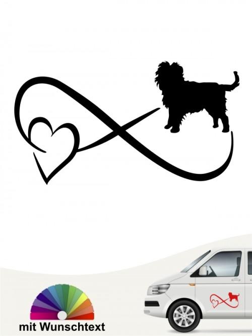Hunde-Autoaufkleber Affenpinscher 40 von Anfalas.de