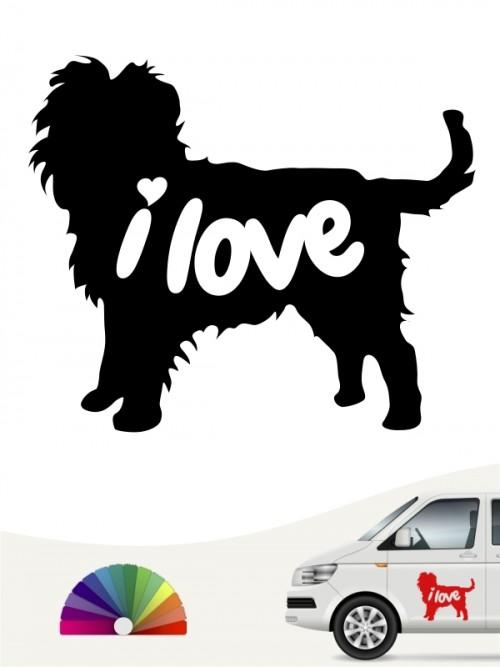 Hunde-Autoaufkleber Affenpinscher 43 von Anfalas.de