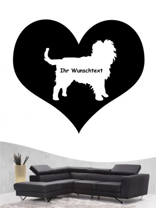 Hunde-Wandtattoo Affenpinscher 4 von Anfalas.de