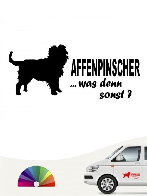 Hunde-Autoaufkleber Affenpinscher 7 von Anfalas.de