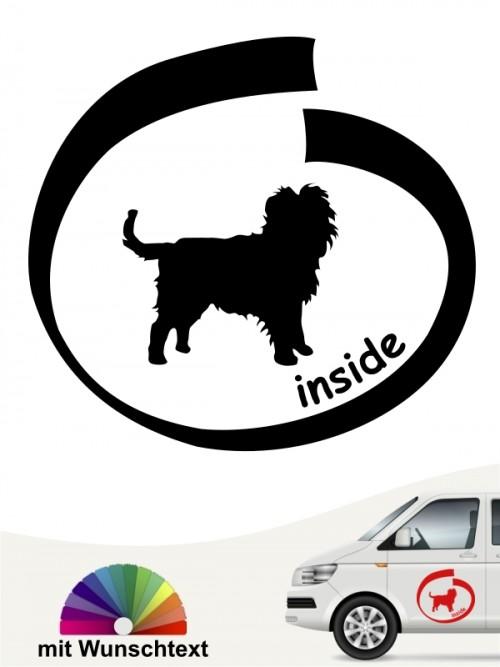 Hunde-Autoaufkleber Affenpinscher 8 von Anfalas.de