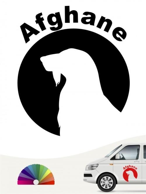 Afghane Autoaufkleber von anfalas.de