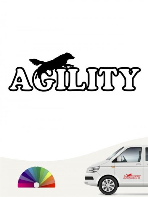 Hunde-Autoaufkleber Agility 16 von Anfalas.de