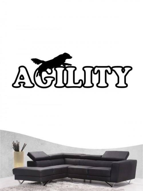 Agility 16  - Wandtattoo