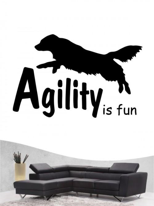Agility 1 - Wandtattoo