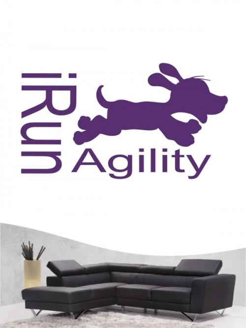 Agility 9 - Wandtattoo