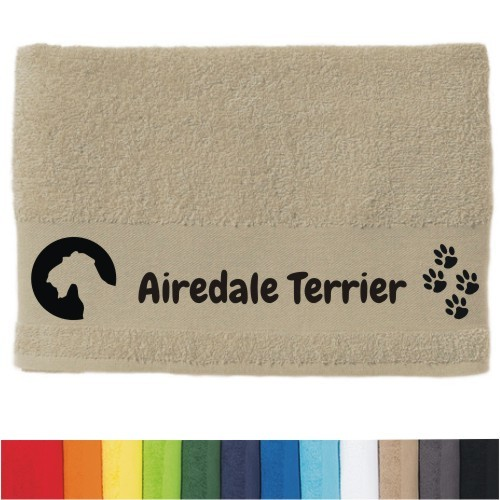 "DOG  - Handtuch ""Airedale Terrier"""