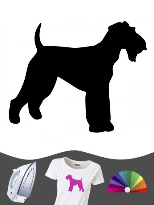 Airedale Terrier 1 - Bügelbild