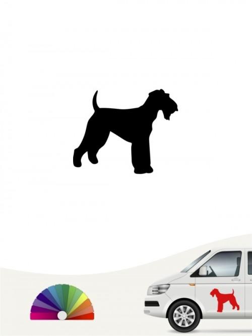 Hunde-Autoaufkleber Airedale Terrier 1 Mini von Anfalas.de