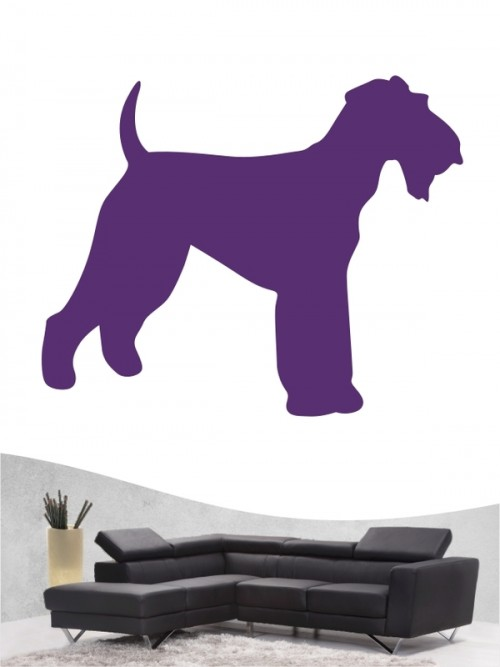 Airedale Terrier 1 - Wandtattoo