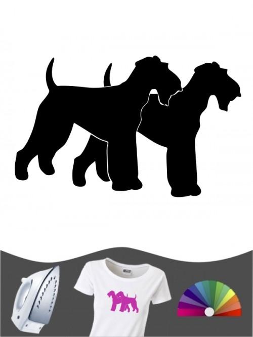 Airedale Terrier 2 - Bügelbild