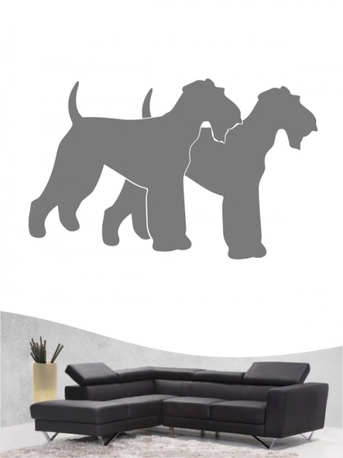 Airedale Terrier 2 - Wandtattoo