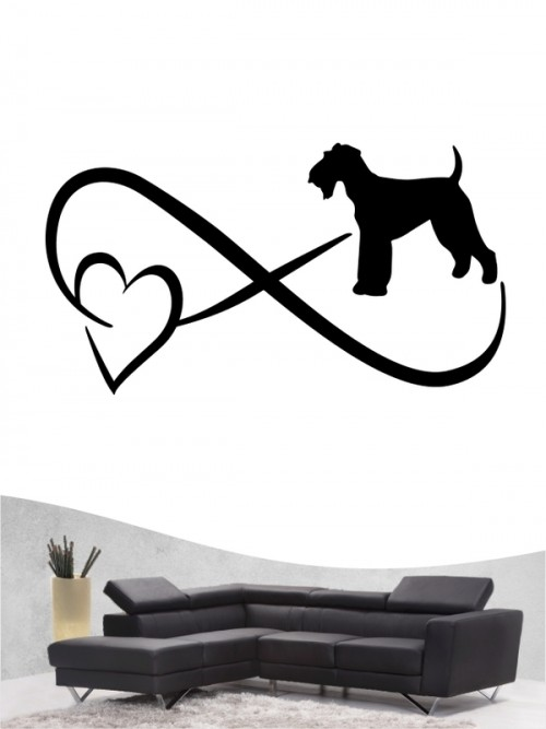 Airedale Terrier 40 - Wandtattoo