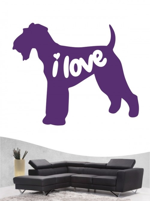 Airedale Terrier 43 - Wandtattoo