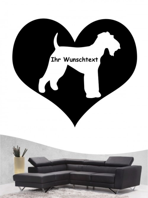 Airedale Terrier 4 - Wandtattoo