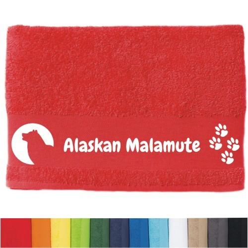 """DOG  - Handtuch """"Alaskan Malamute"""""""