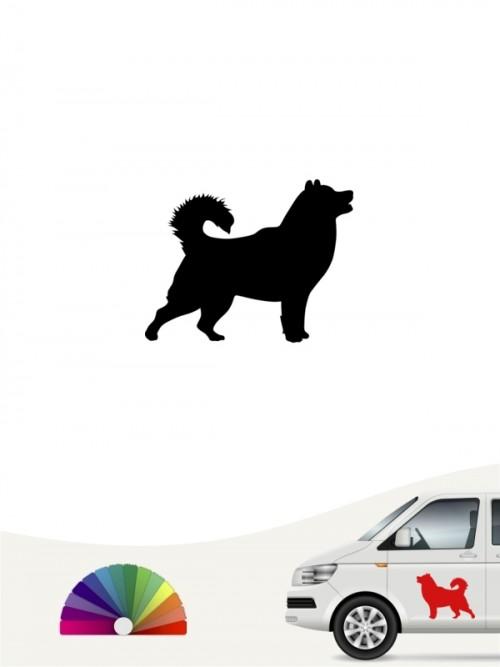 Hunde-Autoaufkleber Alaskan Malamute 1 Mini von Anfalas.de