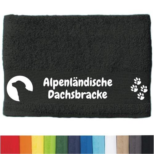 """DOG - Handtuch """"Alpenländische Dachsbracke"""" von anfalas.de"""