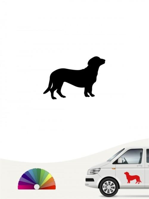 Hunde-Autoaufkleber Alpenländische Dachsbracke 1 Mini von Anfalas.de
