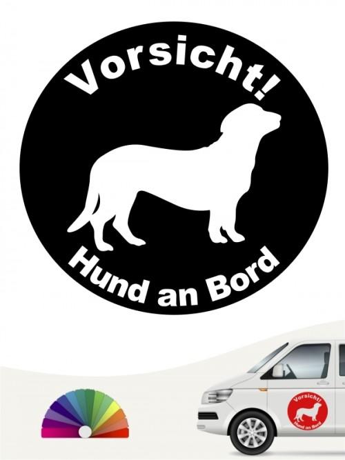 Alpenländische Dachsbracke Hund an Bord Aufkleber anfalas.de