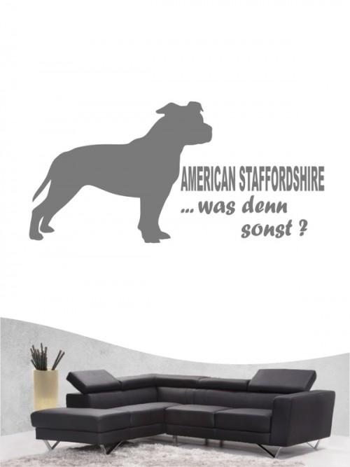 American Staffordshire 7 - Wandtattoo