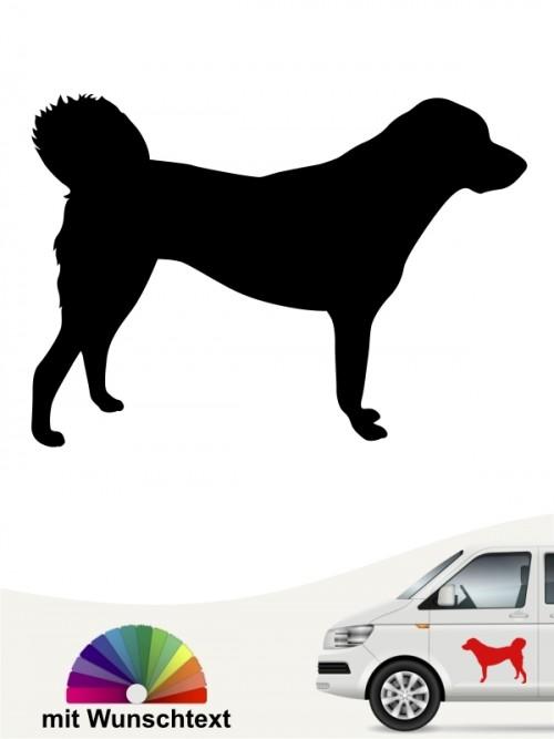 Anatolischer Hirtenhund Aufkleber mit Namen anfalas.de