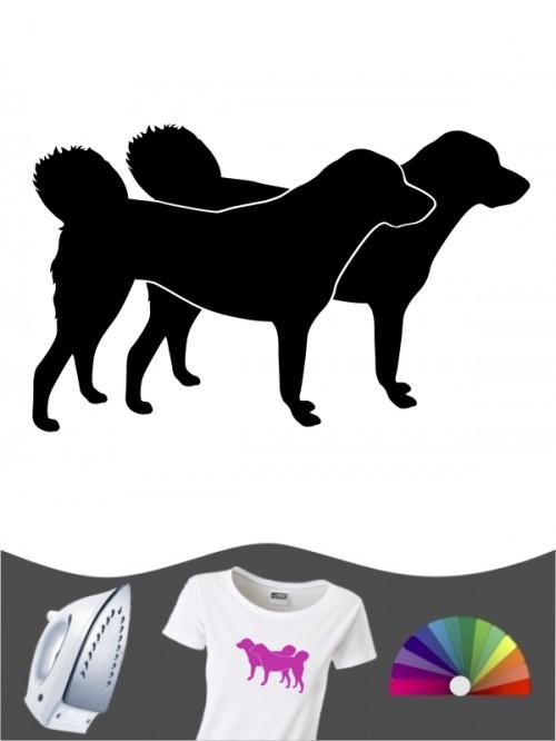 Anatolischer Hirtenhund 2 - Bügelbild